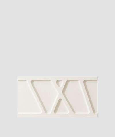VT - PB24 (B0 white) Module W - 3D architectural concrete decor panel