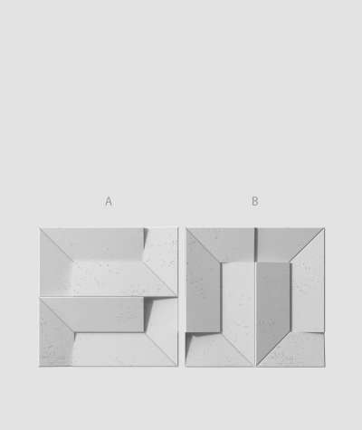 VT - PB26 (S96 ciemny szary) Ori - panel dekor 3D beton architektoniczny