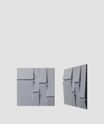 VT - PB25 (B8 anthracite) Tekt - 3D architectural concrete decor panel