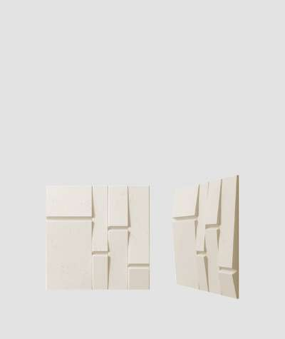 VT - PB25 (KS ivory) Tekt - 3D architectural concrete decor panel