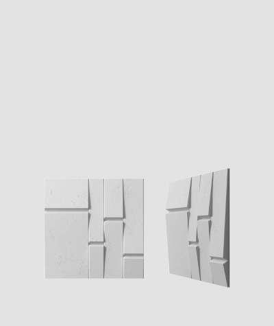 VT - PB25 (S96 ciemny szary) Tekt - panel dekor 3D beton architektoniczny
