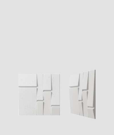 VT - PB25 (S95 light gray - dove) Tekt - 3D architectural concrete decor panel