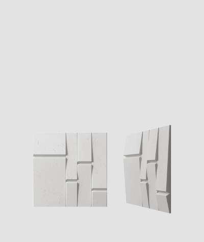 VT - PB25 (S51 ciemny szary - mysi) Tekt - panel dekor 3D beton architektoniczny