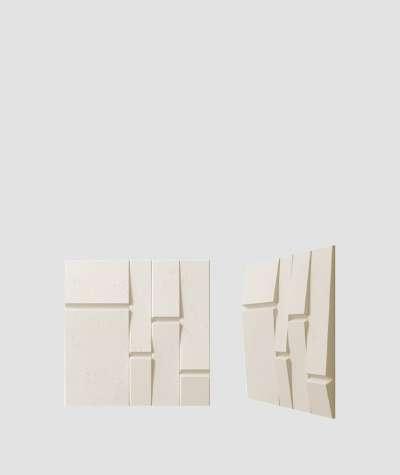 VT - PB25 (KS kość słoniowa) Tekt - panel dekor 3D beton architektoniczny