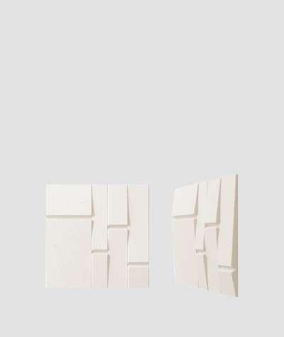 VT - PB25 (B0 white) Tekt - 3D architectural concrete decor panel