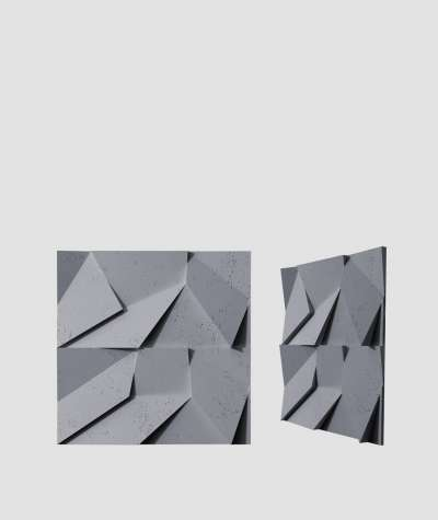 VT - PB06 (B8 antracyt) ORIGAMI - panel dekor 3D beton architektoniczny