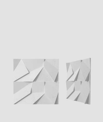 VT - PB06 (S50 jasny szary - mysi) ORIGAMI - panel dekor 3D beton architektoniczny