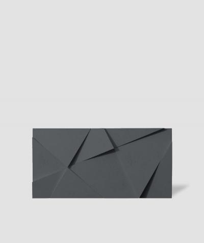 VT - PB05 (B15 czarny) KRYSZTAŁ - panel dekor 3D beton architektoniczny