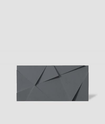 VT - PB05 (B8 anthracite) CRYSTAL - 3D architectural concrete decor panel