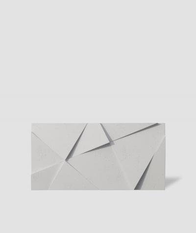 VT - PB05 (B1 siwo biały) KRYSZTAŁ - panel dekor 3D beton architektoniczny