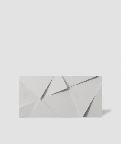 VT - PB05 (B0 biały) KRYSZTAŁ - panel dekor 3D beton architektoniczny