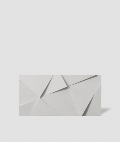 VT - PB05 (B0 white) CRYSTAL - 3D architectural concrete decor panel