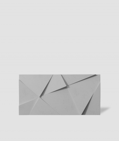 VT - PB05 (S95 light gray - dove) CRYSTAL - 3D architectural concrete decor panel
