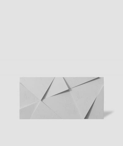VT - PB05 (S50 jasny szary - mysi) KRYSZTAŁ - panel dekor 3D beton architektoniczny
