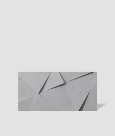VT - PB05 (S96 ciemny szary) KRYSZTAŁ - panel dekor 3D beton architektoniczny