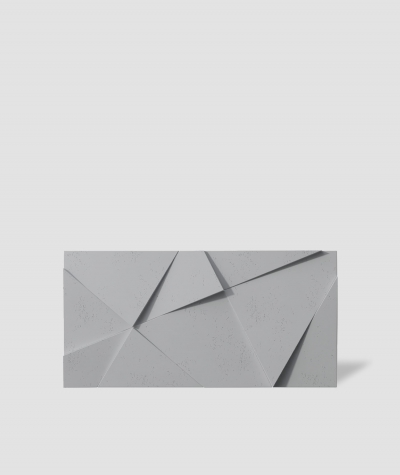 VT - PB05 (S96 dark gray) CRYSTAL - 3D architectural concrete decor panel