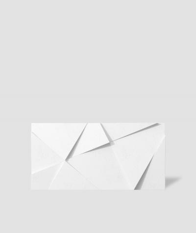 VT - PB05 (BS śnieżno biały) KRYSZTAŁ - panel dekor 3D beton architektoniczny
