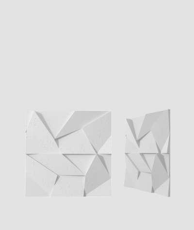 VT - PB06 (B1 gray white) ORIGAMI - 3D architectural concrete decor panel
