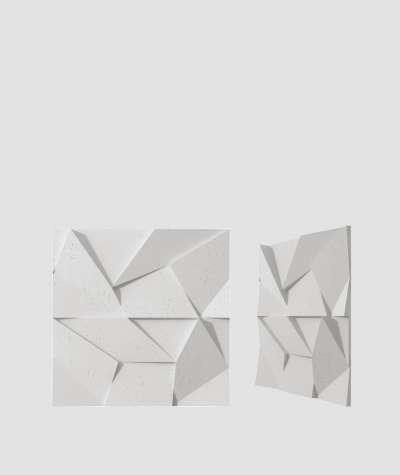VT - PB06 (S95 light gray - dove) ORIGAMI - 3D architectural concrete decor panel