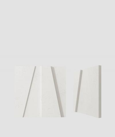 VT - PB10 (BS śnieżno biały) MOZAIKA - panel dekor 3D beton architektoniczny