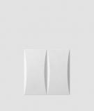 VT - PB20 (B1 siwo biały) BLOK - panel dekor 3D beton architektoniczny