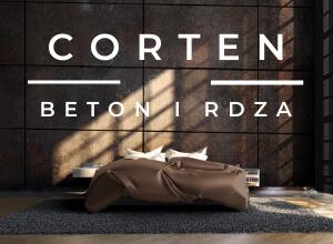 kolekcja corten beton i rdza