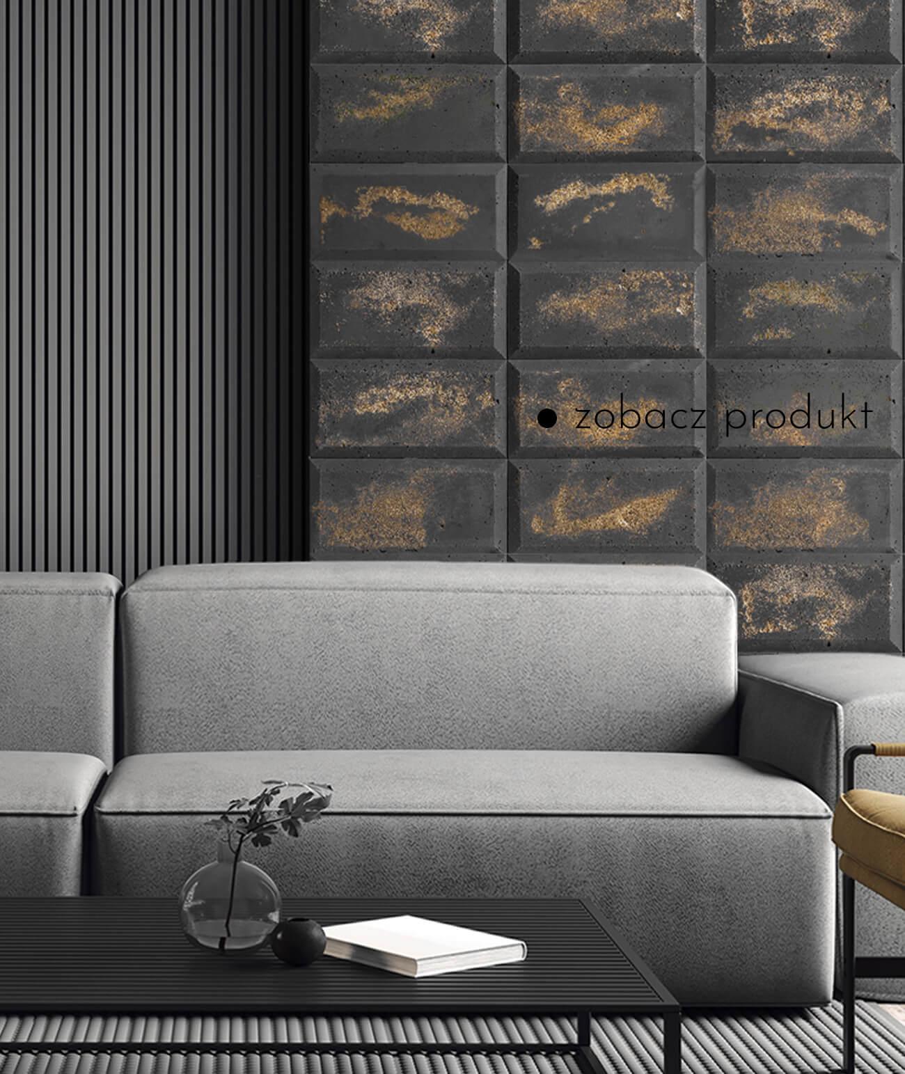 """""""1418-ds-choco-antracyt---zlote-kruszywo---beton-architektoniczny-panel-3d"""""""