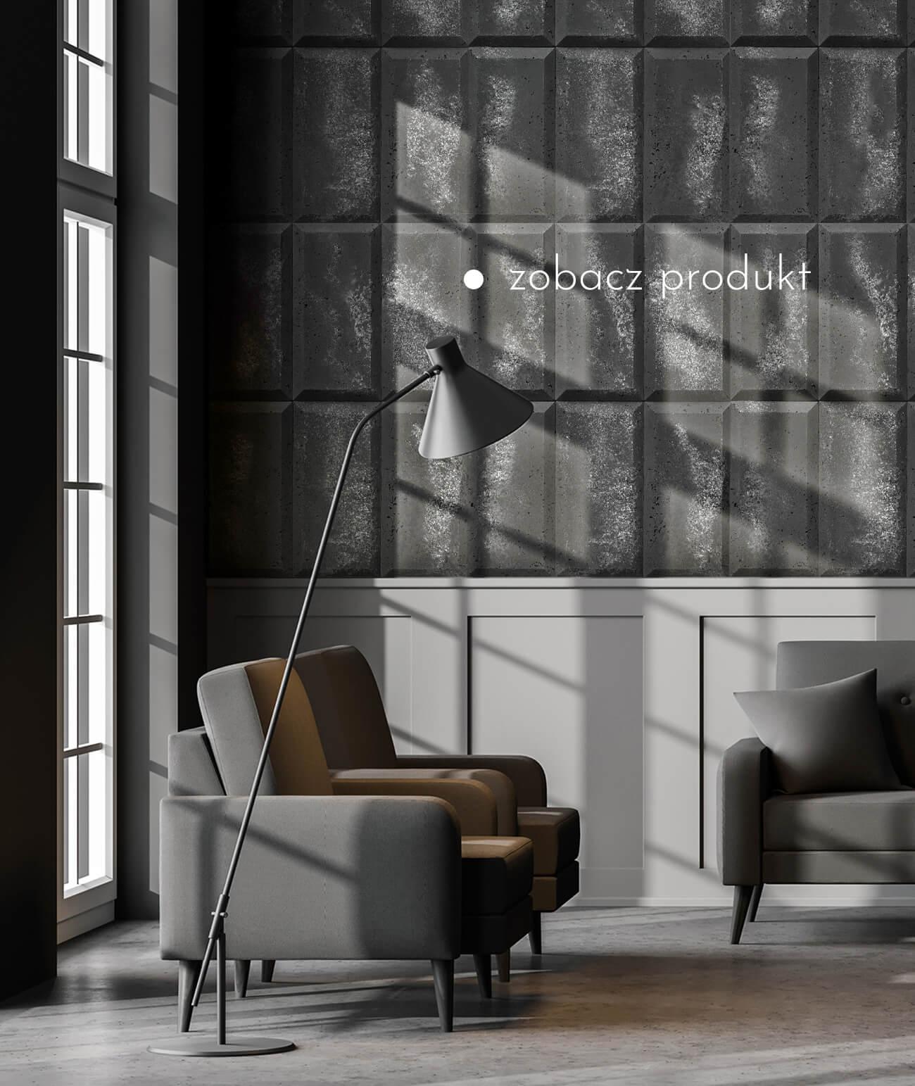 """""""1420-ds-choco-antracyt---srebrne-kruszywo---beton-architektoniczny-panel-3d"""""""