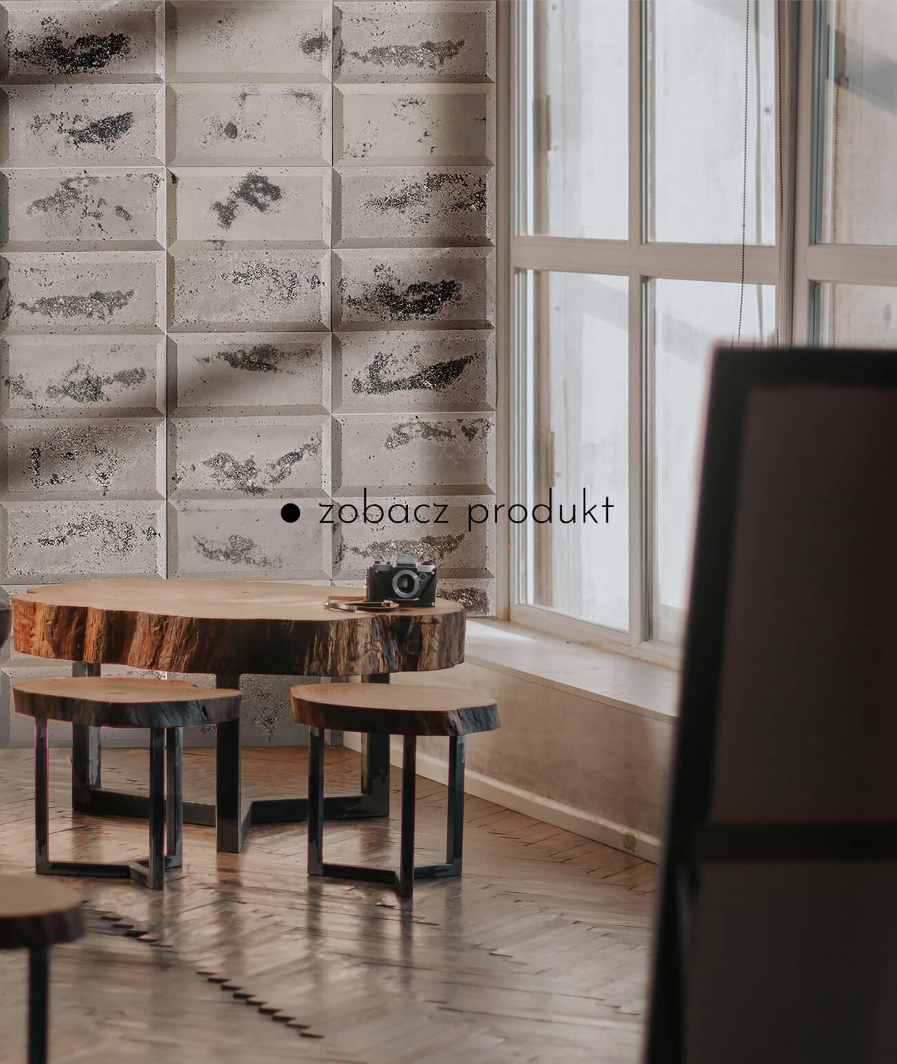 """""""1425-ds-choco-cappuccino---czarne-kruszywo---beton-architektoniczny-panel-3d"""""""
